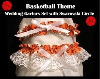 Sport basket ball jarretière jarretelles souvenir toss bal parti cadeau de mariage