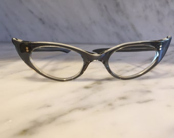 women's vintage cat eye eyeglasses