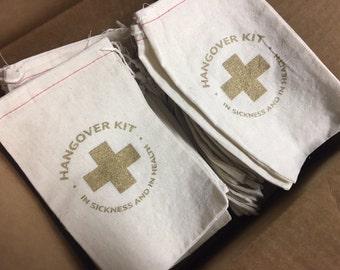 Hangover Kit Bags!