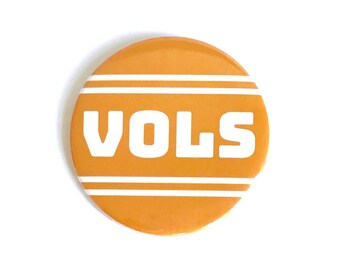 University of Tennessee, Vols, Orange & White, Gameday Button