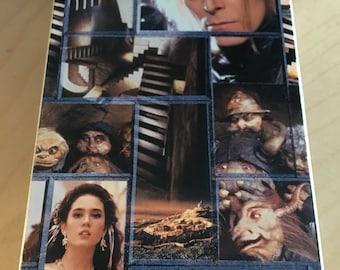 Labyrinthe VHS aventure mettant en vedette David Bowie