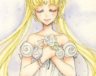 Princess Serenity Postcard