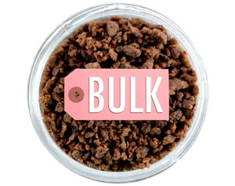 Chocolate Crunch BULK (1lb) - brown chocolate sprinkles crunch topping for topping cupcake, doughnut, and sweet treats!
