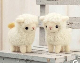 Sheep Friends Needle Felting Kit