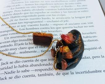 Niffler accessories, Magical Creatures bookmark,  fantastic beasts Niffler, fantastic beasts Niffler bookmark, Niffler animales fantasticos