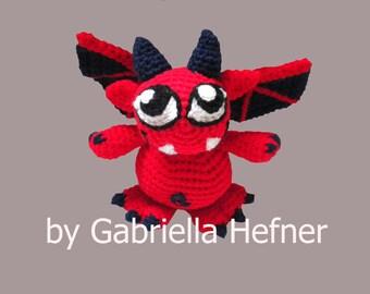 Amigurumi Halloween Little Demon Pattern