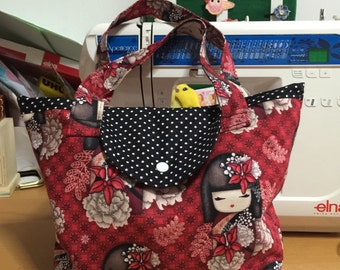 Kimmidoll lunch tote bag