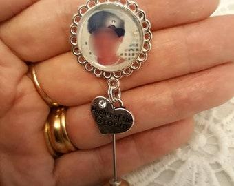 Groom Wedding Lappel pin
