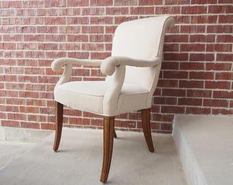Sherrill Mid-Century Modern Parsons Chair