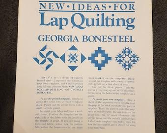 Quilting Pattern Templates - Lap Quilt - Georgia Bonesteel