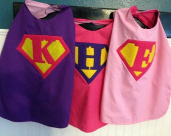 Superhero cape with mask, gift for kids, gift for girls, birthday gift for kids, superhero gift, super hero favor, Valentine gift for kids