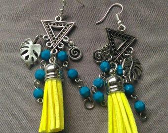 Boucles d'oreilles Incas