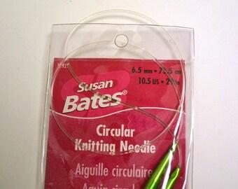 Circular Knitting Needles 29 inches long  Number 10.5 US