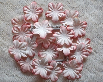 DIY, Mulberry Flowers, Pink Tip, Scrapbooking, Mixed Media,  Card Making, Shabby Chic