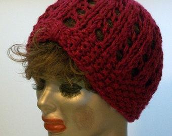 HAT WOMEN KNITTED Hand made Beanie   Cloche Slouch Women Hat Knitted   Teens Girls Woman