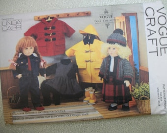 Vogue 8556 18 inch doll clothes. American Girl, My Life, My Generation.  Linda Carr