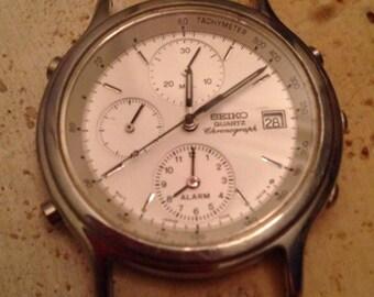1970's Vintage Seiko 7T32-6A5O Mens Watch