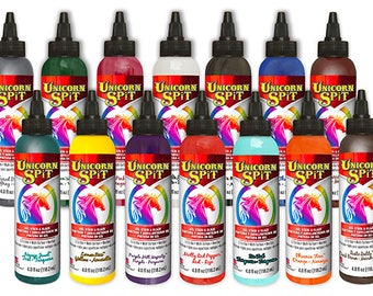 Unicorn SPiT set of all 14 colors, 4 ounce bottles