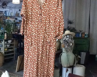Vintage Cowgirl Dress