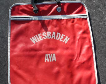 VINTAGE German bag / carry on LUGGAGE