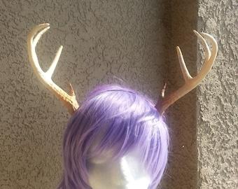 NEW ARRIVAL! 8 inch Realistic Christmas Doe / Deer Antlers Horns  3D Printed (Ultra Light Weight Plastic) Reindeer Antlers comic-con