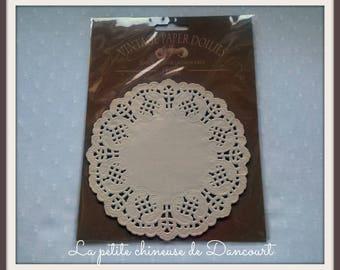 Paper doily white Tilda