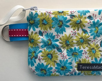 XX-Small Floral Zip Pouch