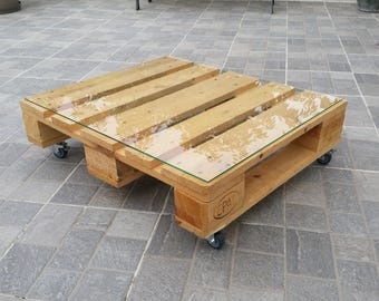 Table industrial low half one color scheme