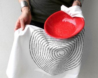Animal Group Nouns Flour Sack Kitchen tea towel, mother gift, housewarming gift, funny wife gift, gourmet mom, animal lover, grandma gift