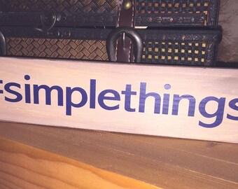 SIMPLETHINGS Shelf Sitter Block