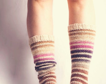 Beauteous Boot Socks. Pattern only