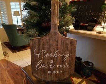 Cooking is Love Board