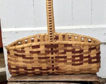 Brown Hearth Basket