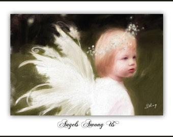 Angels Among Us- Fine Art Print