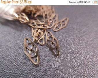 ON SALE 20% OFF 14k Gold Filled Plaques / Chain Tags 10pcs