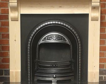 Pine Fire Surround with a 45mm Chunky Top