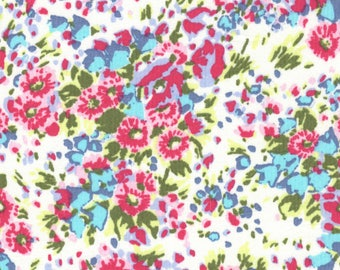 Lightweight cotton floral 90cmx130cm coupon