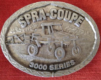 Vintage Belt Buckle  Spra-Coupe