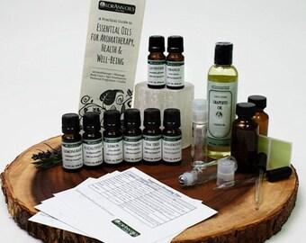 Aromatherapy Essential Oils Starter Kit