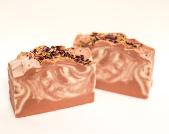 Rose and Silk Soap Bar