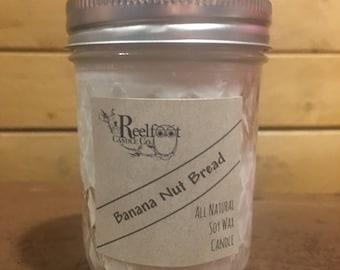Banana Nut Bread - Soy Wax Candle