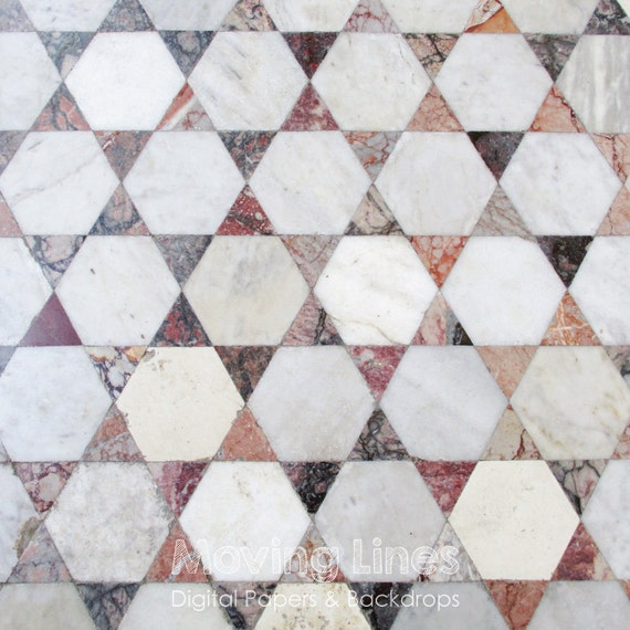 Ceramic Tiles Mosaic Floor Marble Texture Wall Pattern