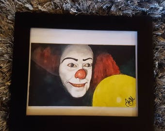 Tim Curry IT Painting // FREE Shipping in USA