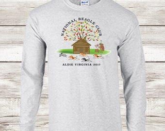 Beagle national 2017 tshirt grey stinkbug long sleeve shirt