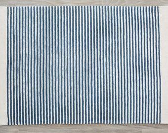 Sailor Stripe Organic Cotton Rug