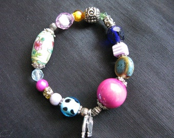 Gifts under 10, beads bracelet, stretch bracelets, beads jewelry
