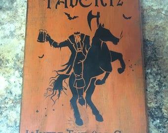 Halloween Sleepy Hollow Sign