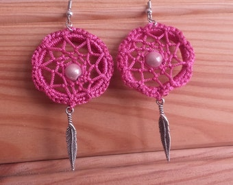 dreamcatcher dream catcher earrings