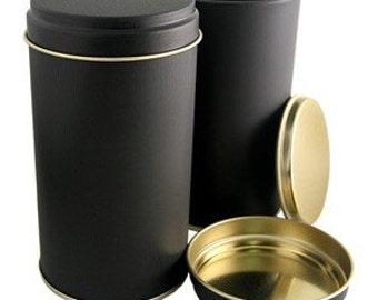 Black Tea storage container- For loose leaf tea