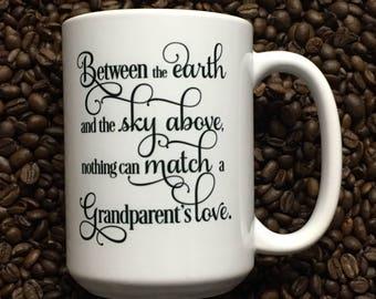 Coffee Mug Funny Grandparent's Love Mug